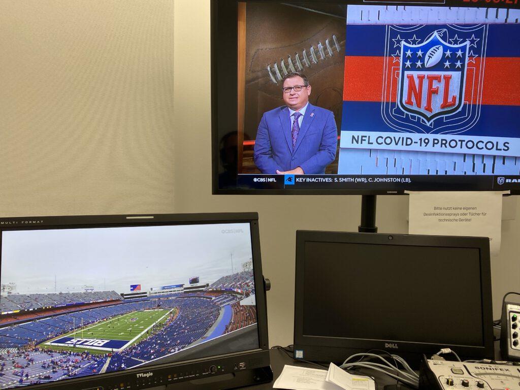 NFL ENDZN Backstage - Kabine