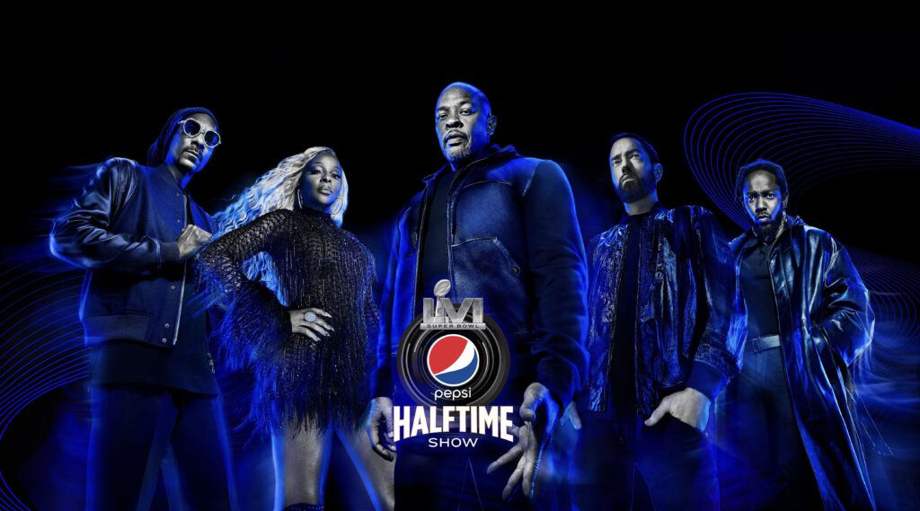 Super Bowl LVI Halftime Show - Titel