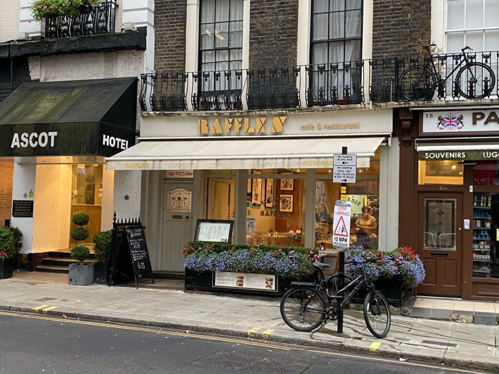 London 2021 - Frühstück